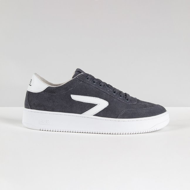 Baseline Z-stitch Suede Ocean Blue/White/White