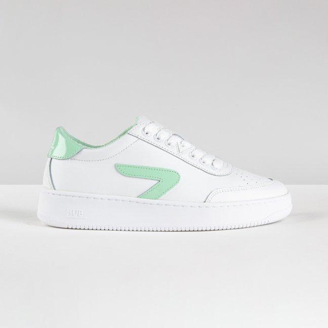 Baseline Z-stitch White/Neo Mint