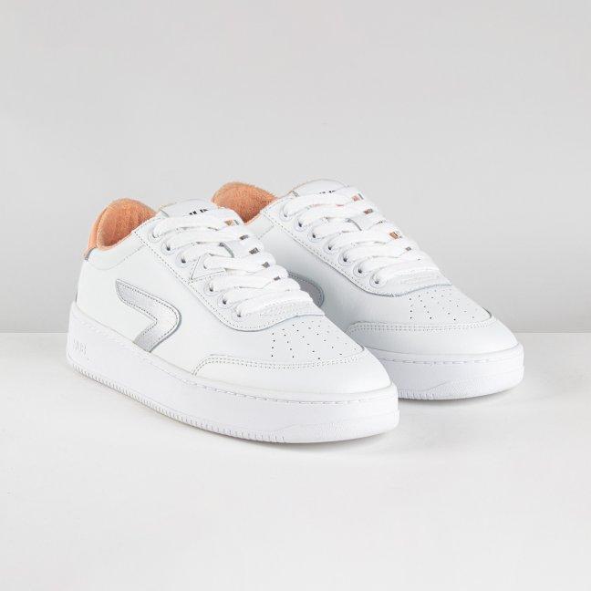 Baseline Z-stitch White/Silver/Cantaloupe