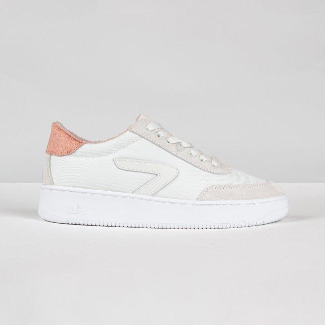 Baseline Z white / perfect pink