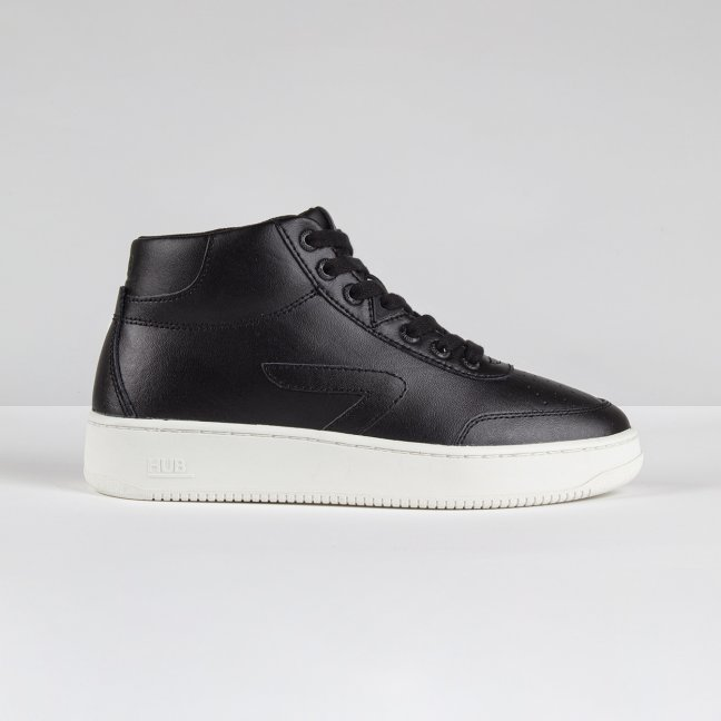 Baseline Mid Z-stitch Black/Off White