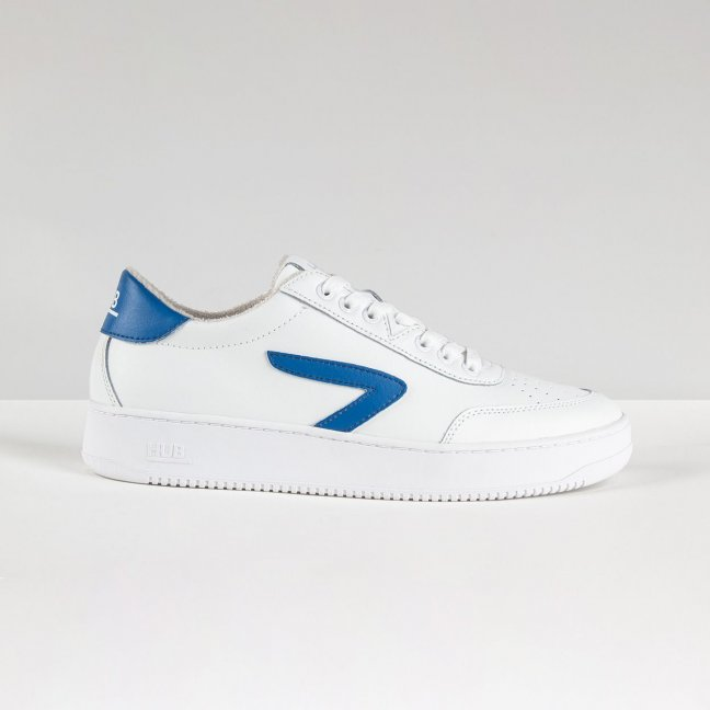 Baseline Z-stitch White/Fresh Blue/White