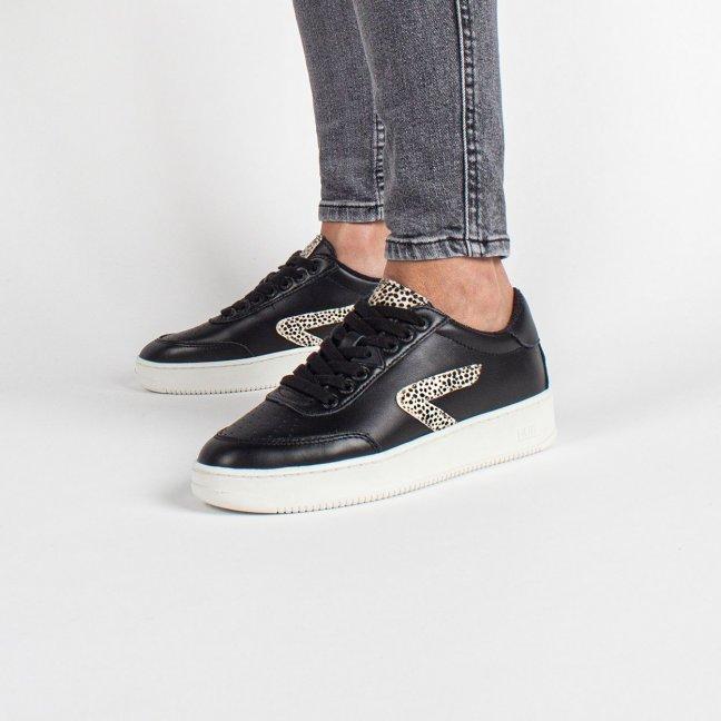 Baseline Z-stitch Black/Cheetah/Off White