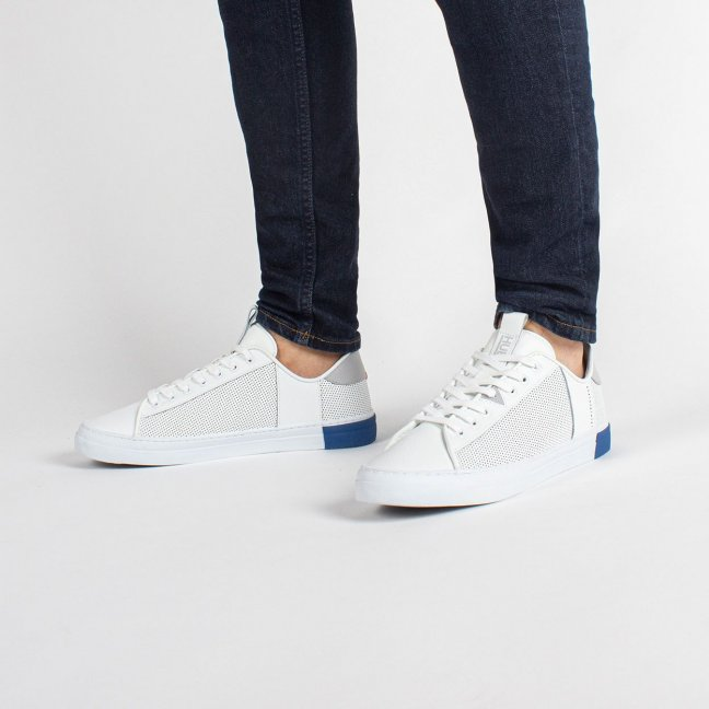 Hook Tennis Inspired White/Neutral Grey/Fresh Blue