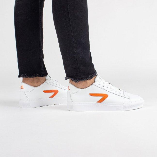 Hook CS Z-stitch White/HUB Orange