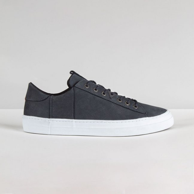 Hook Scratched Navy/White
