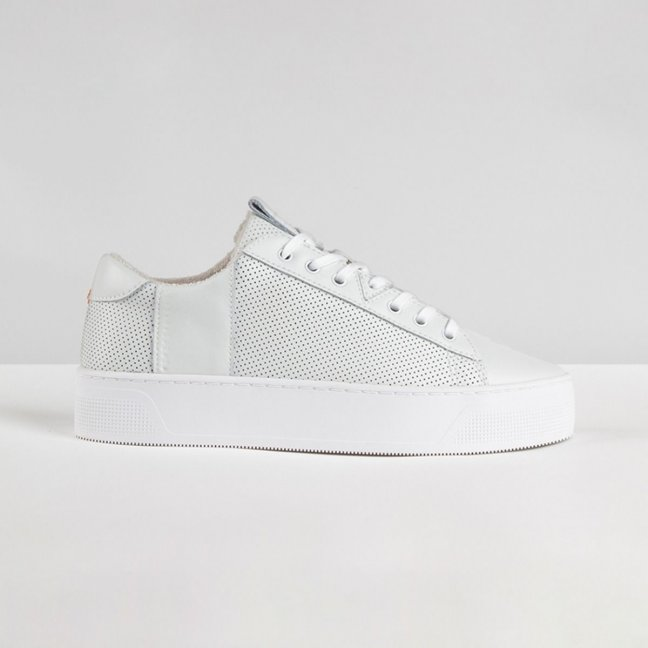 Hook Plateau Perforated White/White
