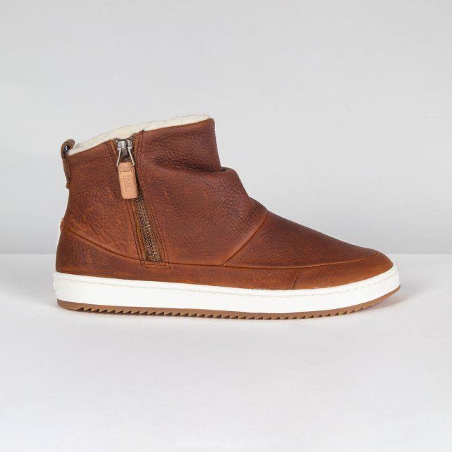 Ridge Cognac/Off-White Gum