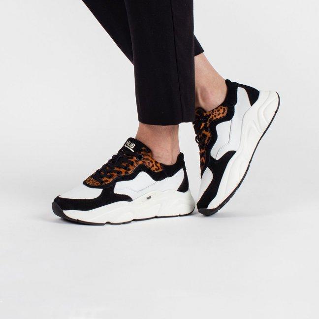 Rock Leopard White/Black/Leopard