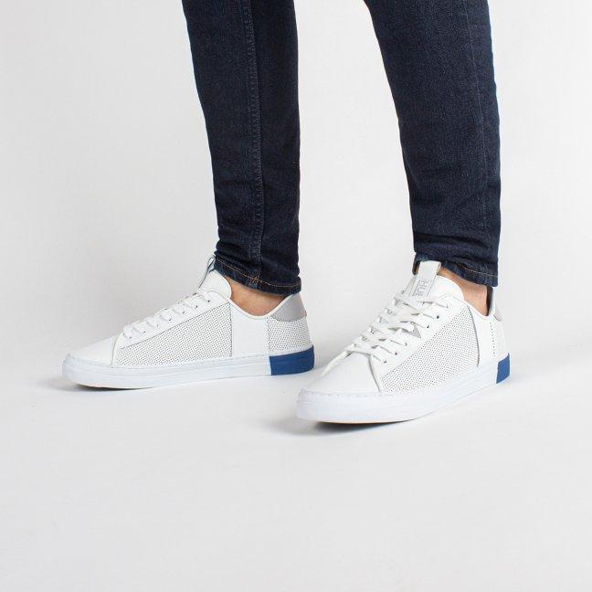 Hook Tennis Inspired White/Neutral Grey/Fresh Blue