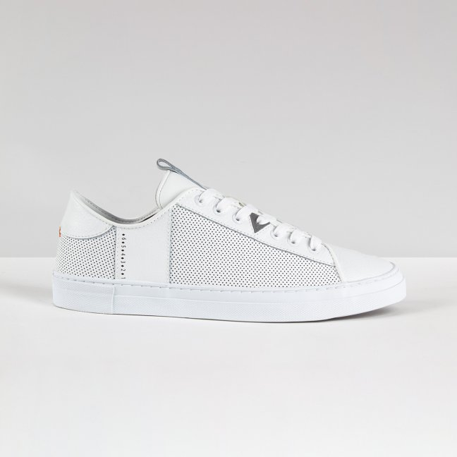 Hook Tennis Inspired White/White