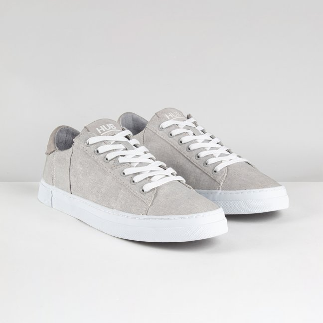 Hook Canvas Neutral Grey/White
