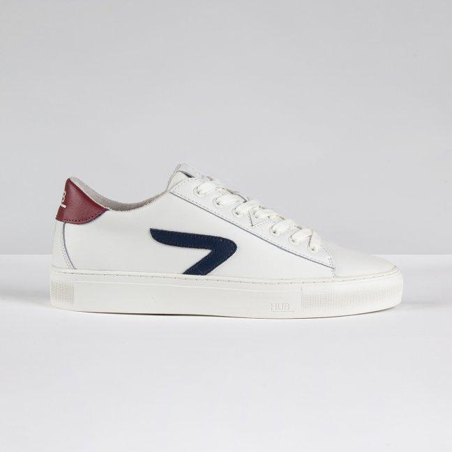 Hook CS Z-stitch Off White/Gravel/Blue