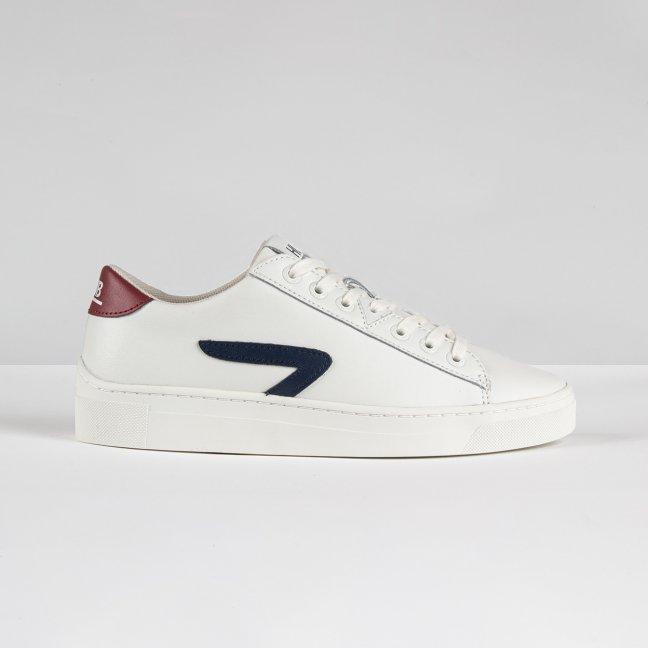 Hook LW Z-stitch Off White/Gravel/Blue