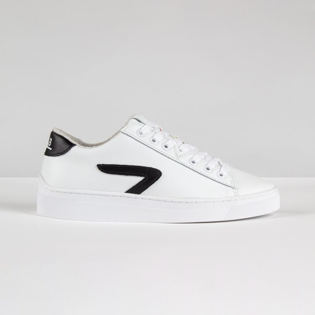 Hook LW Z-stitch White/Black