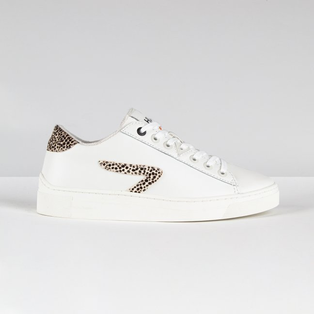 Hook LW Z-stitch Off White/Cheetah