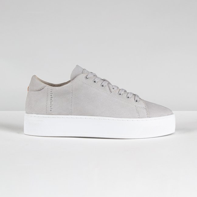 Hook Plateau oiled nubuck neutral grey / white