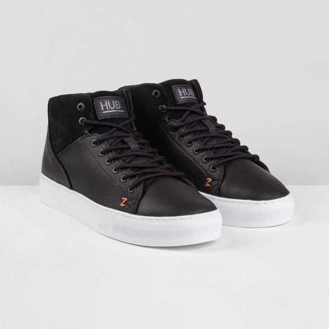 HUB Boots Murrayfield Black White