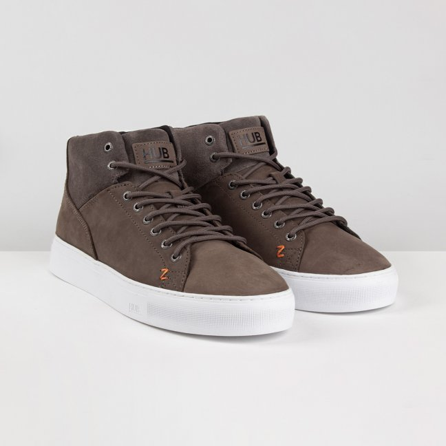HUB Boots Murrayfield Grey/White
