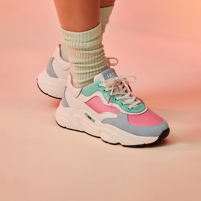 Rock Jewel - pink/mint/white