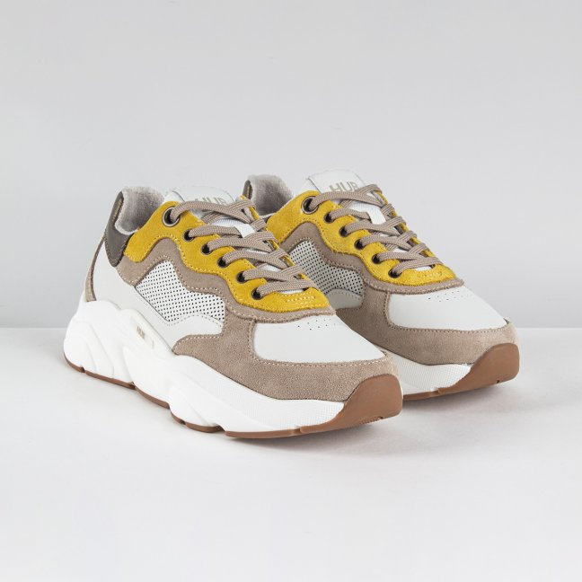 Rock Off White/Taupe/Off White-Light Gum