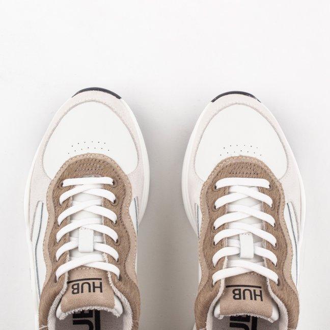 ROCK (Off White/Sand) | HUB Footwear