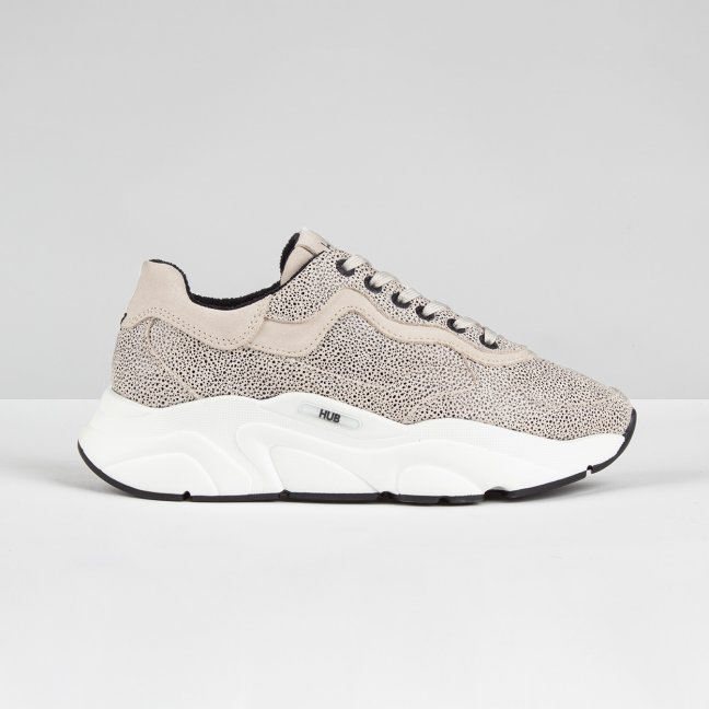 Rock Dotted Leather Vista/Off White