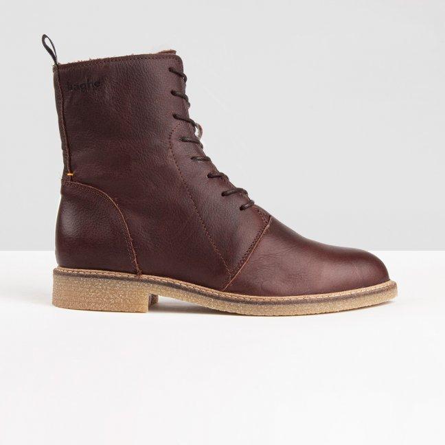 Vagos Wool Dark Brown / Gum