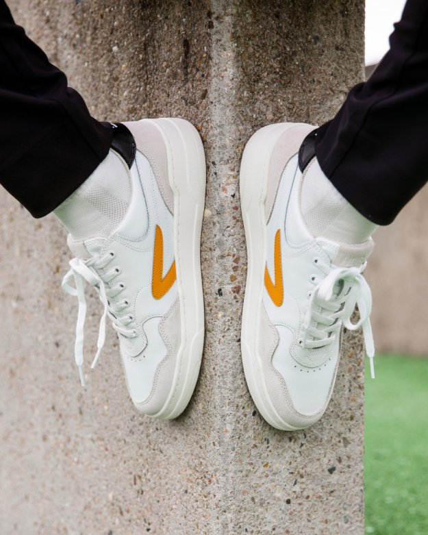 Court-Z white/amber/black