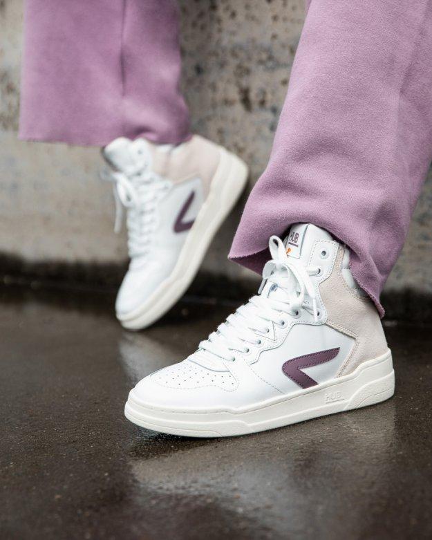 Court-Z High white/violet