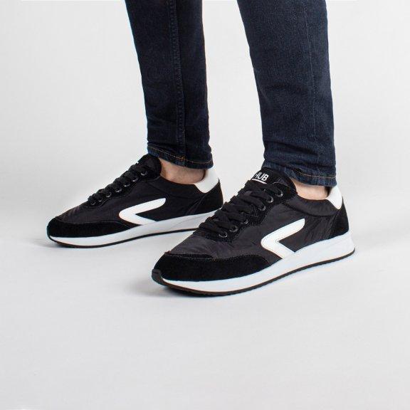 Line Z-stitch Black/White