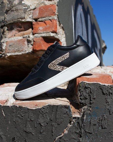 Baseline Z-stitch Black/Cheetah