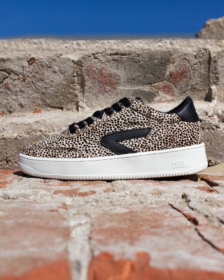 Baseline Z-stitch Cheetah/Black