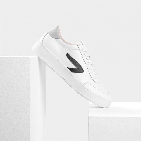 Baseline Z-stitch White/Dark Grey