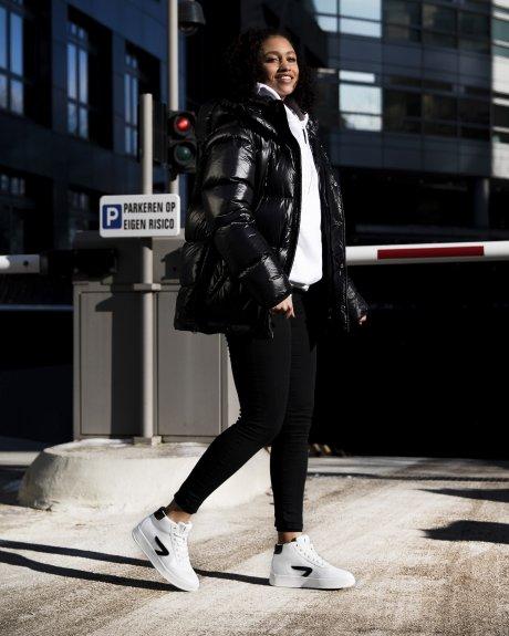 Baseline Z Mid - White - Black / Off White